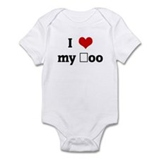 I Love my şoo Infant Bodysuit