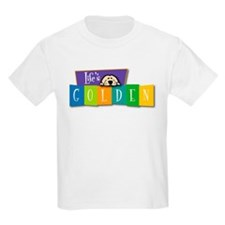 Life's Golden Retro Kids T-Shirt