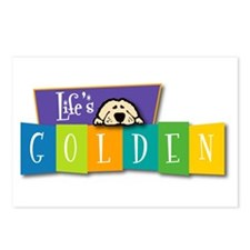 Life's Golden Retro Postcards (Package of 8)