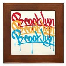 Brooklyn Colors Framed Tile