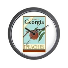 Travel Georgia Wall Clock