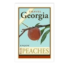 Travel Georgia Postcards (Package of 8)