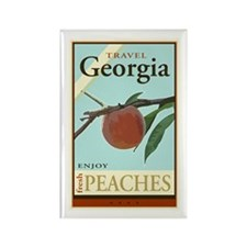 Travel Georgia Rectangle Magnet