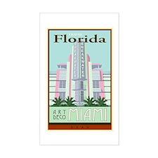 Travel Florida Rectangle Decal