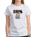 The IRS Women's T-Shirt