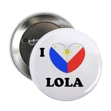"Cute Lola 2.25"" Button"
