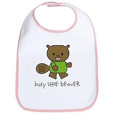 Busy Little Beaver Bib