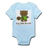 Busy Little Beaver Onesie