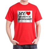 My Heart Belongs To An ARCHOLOGIST T-Shirt