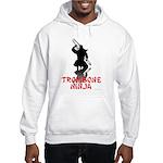 Trombone Ninja Hooded Sweatshirt