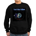 Total Solar Eclipse - 1, Sweatshirt (dark)