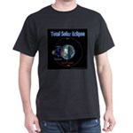 Total Solar Eclipse - 1, Dark T-Shirt