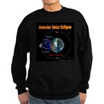 Annular Solar Eclipse - 1, Sweatshirt (dark)