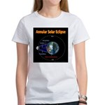 Annular Solar Eclipse - 1, Women's T-Shirt
