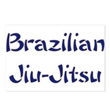 Brazilian Jiu-Jitsu Postcards (Package of 8)