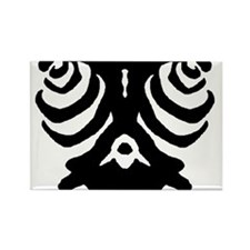 Cute Ink blot Rectangle Magnet