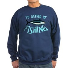 Rather Be Fishing Sweatshirt