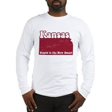 Vintage Kansas Long Sleeve T-Shirt