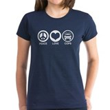 Peace Love Cops Tee