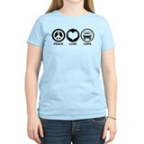 Peace Love Cops T-Shirt