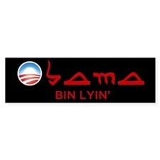 Obama Bin Lyin' Bumper Bumper Sticker