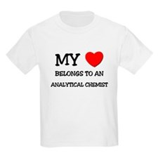 My Heart Belongs To An ANALYTICAL CHEMIST T-Shirt