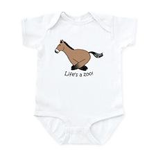 P-horse Infant Bodysuit