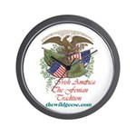 Irish America: Fenian Trad - Wall Clock