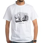 Treadmill White T-Shirt