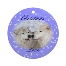 Christmas Kisses Ornament