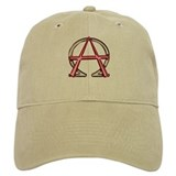 Alpha &amp; Omega Anarchy Symbol Cap