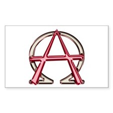 Alpha & Omega Anarchy Symbol 50 Stickers