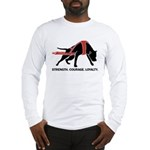 Pit Bull Weight Pull Long Sleeve T-Shirt