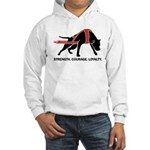 Pit Bull Weight Pull Hooded Sweatshirt