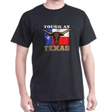 Tough as Texas Longhorn Black T-Shirt