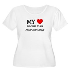 My Heart Belongs To An ACUPUNCTURIST T-Shirt