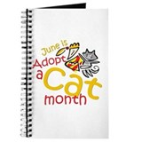 June is National Adopt a Cat Journal