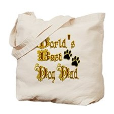 Best Dog Dad Tote Bag
