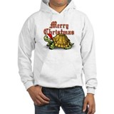 Hooded Christmas Turtle Sweatshirt