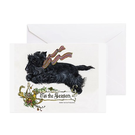 Scottish Terrier Season Greeting Cards (Pk of 10)