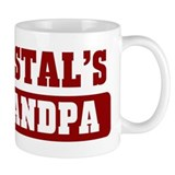 Cristals Grandpa Small Mugs