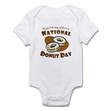 June: National Donut Day Infant Bodysuit