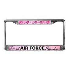 Proud Air Force Grandma License Plate Frame