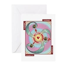 SCAT -- GIVER Greeting Cards (Pk of 10)