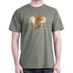 Golden Butts with Duck Green T-Shirt