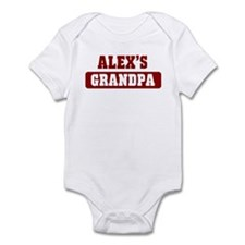 Alexs Grandpa Infant Bodysuit