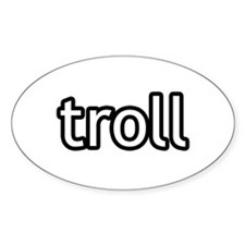 Troll Product Line Oval Decal