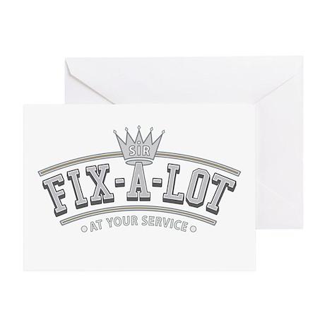 Sir Fix-A-Lot Greeting Card