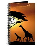 Giraffe Family Journal