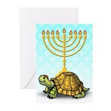 Turtle Chanukah Cards (Pk of 10)